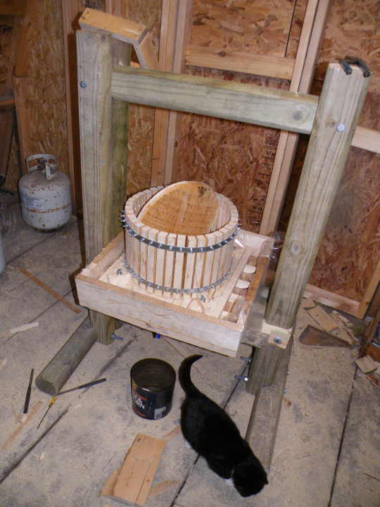 Finished Cider Press