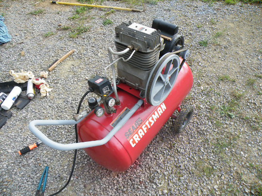Air Compressor After