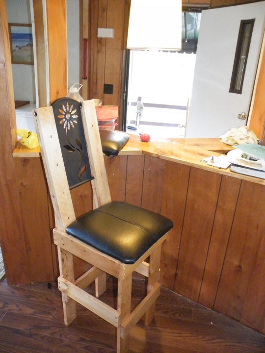Finished Bar Stool