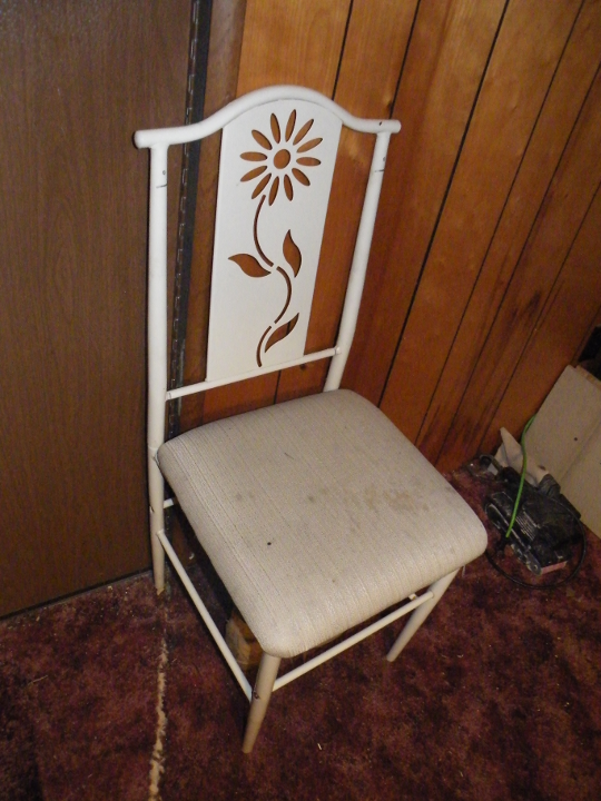 An Old Chair - The Inspiration
