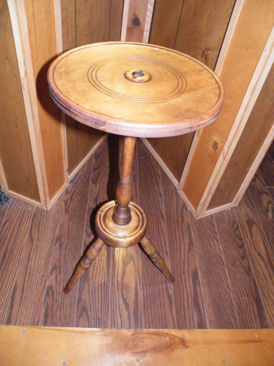 Smoking Stand - Re-purposed as a small end table.