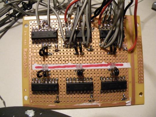 Ike's New Motor Control Board