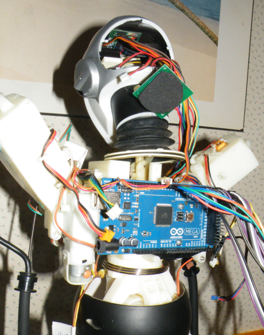 Arduino Mega Board Mounted on Ikes Back