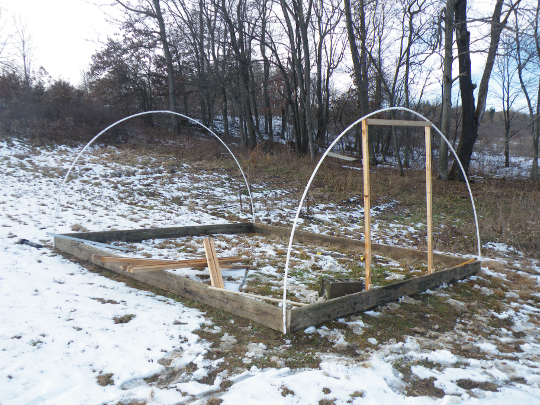 Hoop House Trials